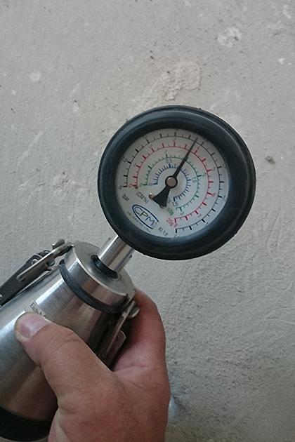 pomiar wilgotności metodą CM