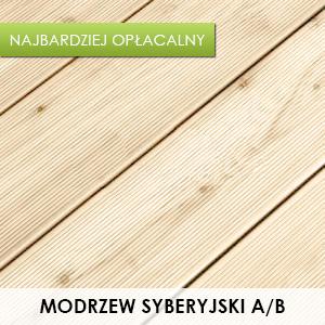 Taras Drewniany - Modrzew Syberyjski A/B