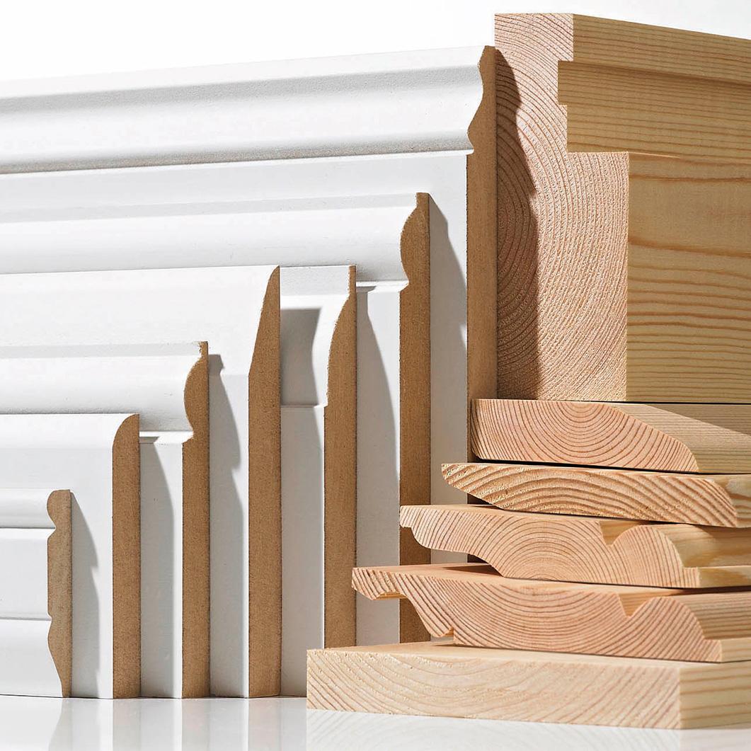 Drewniane listwy przypodłogowe