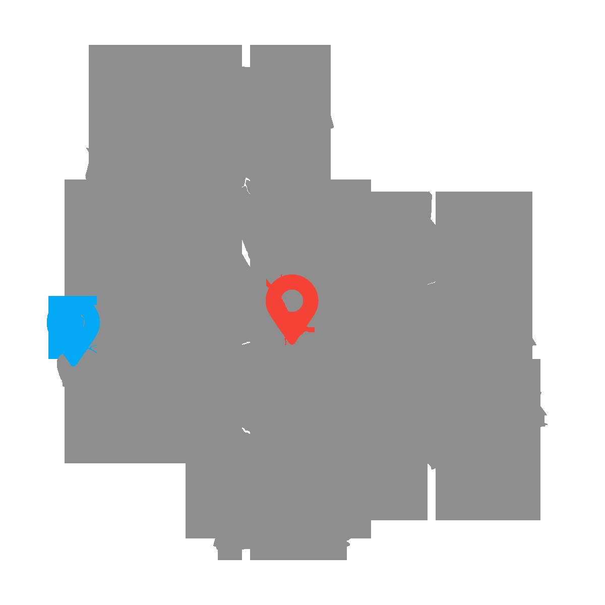 Mapa salonów podłóg